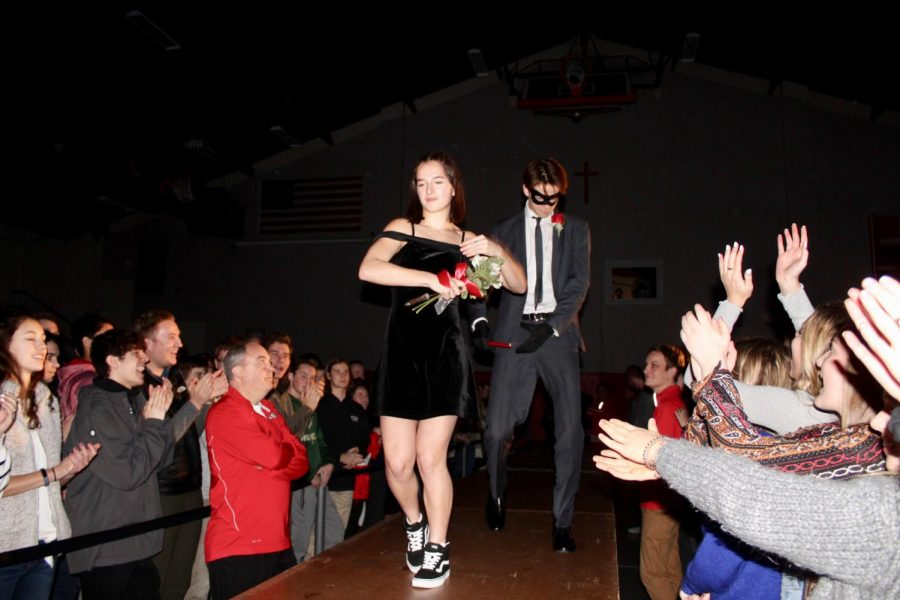 Calengor and Lawler continue their dance down the runway.