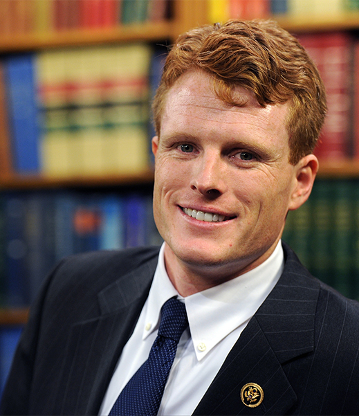 Democratic+Congressman+Joe+Kennedy+was+elected+into+office+in+2013.+