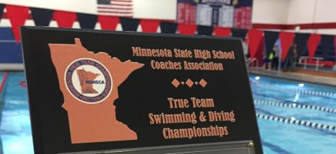 BSM boys' swim team goes home with a win at True Sections
