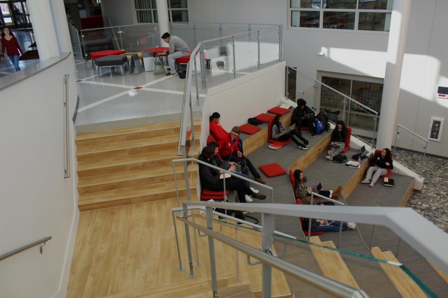The new space is open during all hours and many students have taken advantage of this space during their free hours.