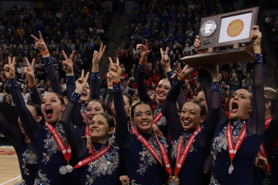 The Knightettes bring home a 2nd place State AA Jazz title.