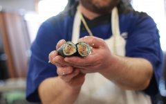 Taher hosts sushi-making demo for students