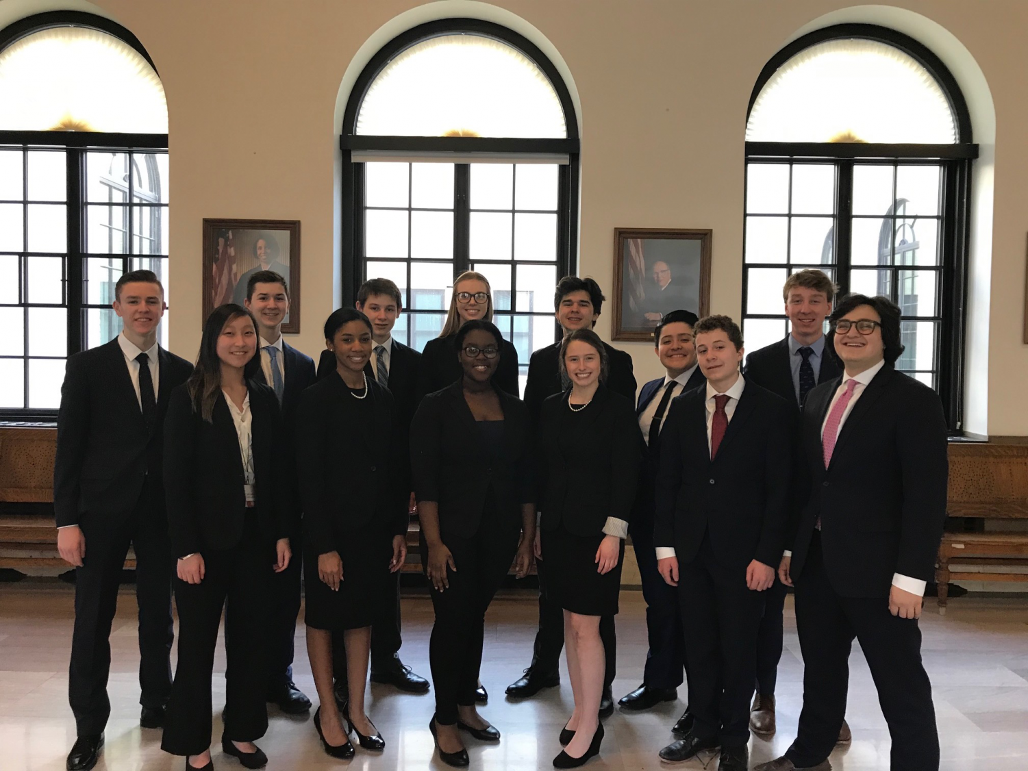 The 2018-2019 Mock Trial team went to State again this year.