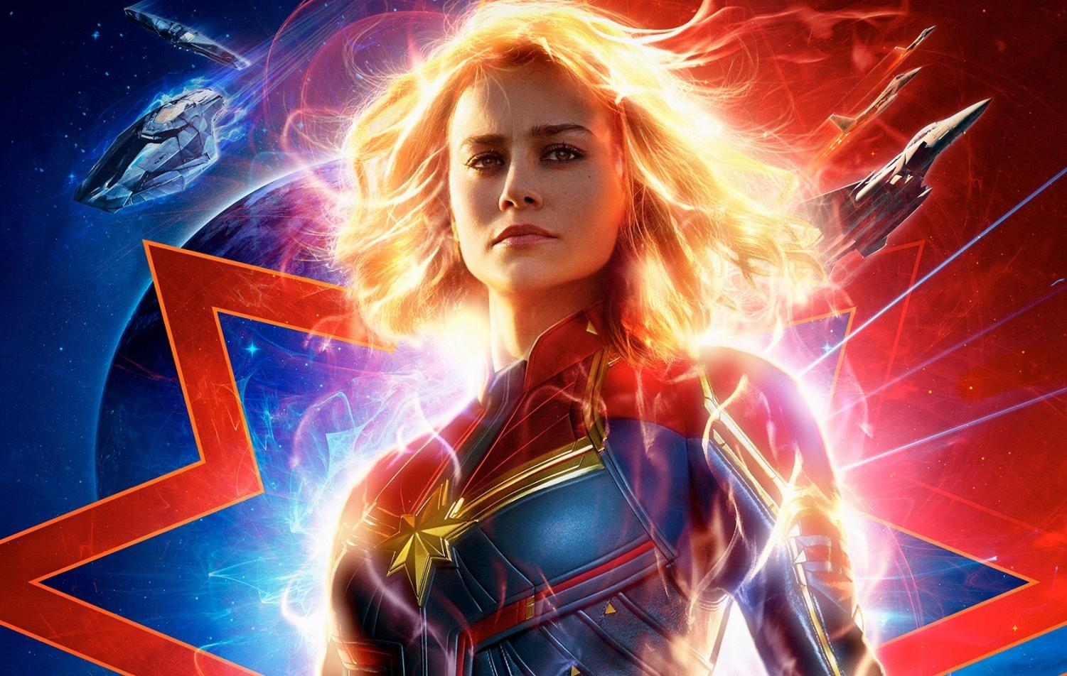 Brie Larson stars in Captain Marvel, just one of the movies you should go see this year.