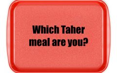 Which Taher meal are you?