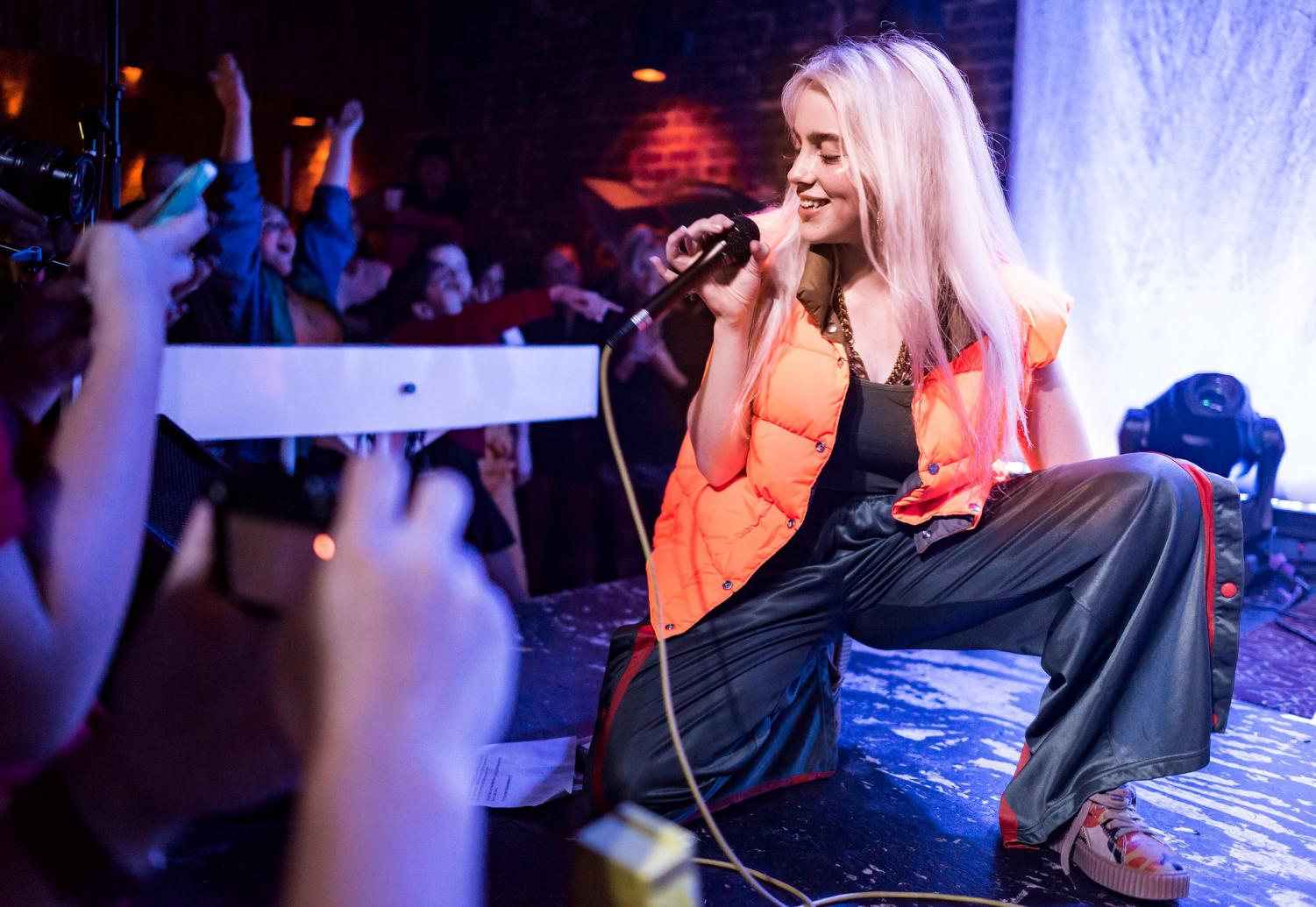 Billie Eilish performed live at The Hi Hat in Highland Park, Los Angeles, California, on Thursday, August 10, 2017. This year her new album is one to look for.