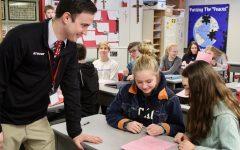 Mrs. Kern hosts student teacher