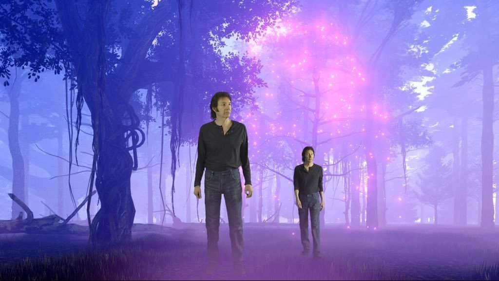 Neil Breen (left) and Neil Breen (right) in Twisted Pair
