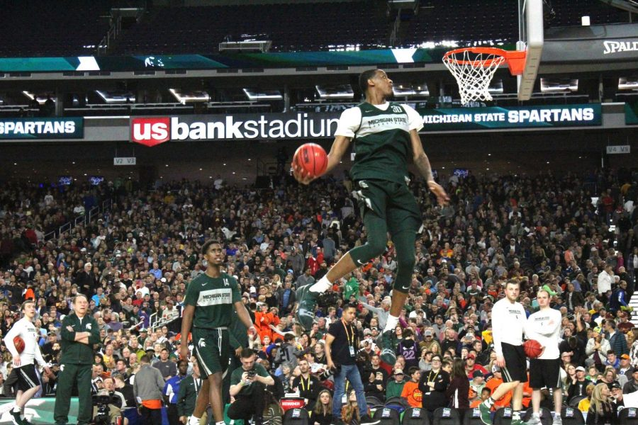 Sitting so close to the practices allowed photographer Jack Shields to capture the Spartans in action.
