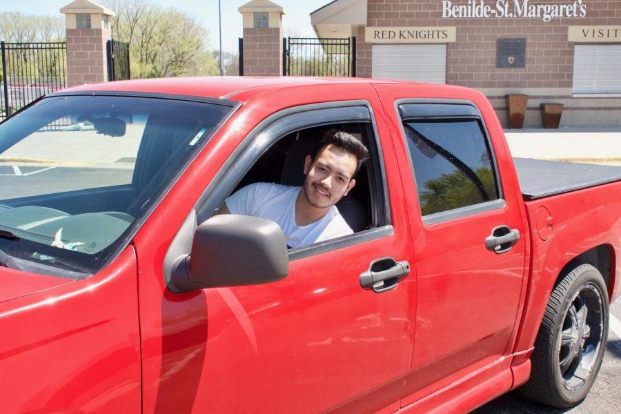 Remigio Hernandez-Maldanado, Jr. spends a lot of time restoring and repairing cars.