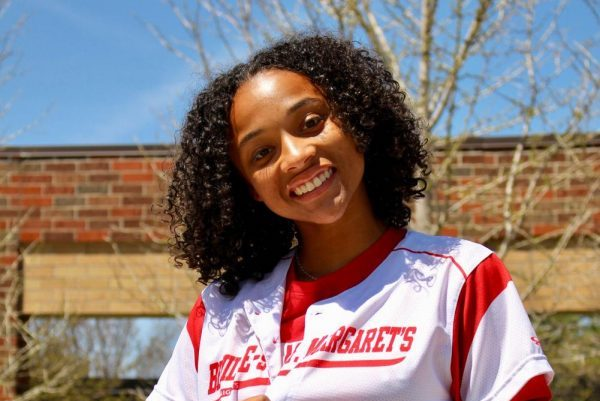 Rachel Scoggins plays two spring sports.