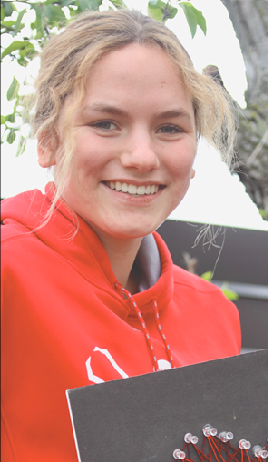 Annie Pohlen's volunteering led her to a different path.