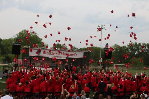 2018 Graduation moves to the turf
