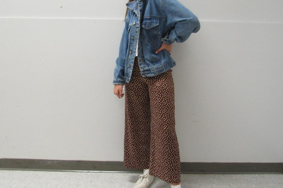 Students at BSM dont have uniforms, so they can wear outfits that are in dress code, like this one.