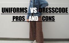 Students at BSM don't have uniforms, so they can wear outfits that are in dress code, like this one.