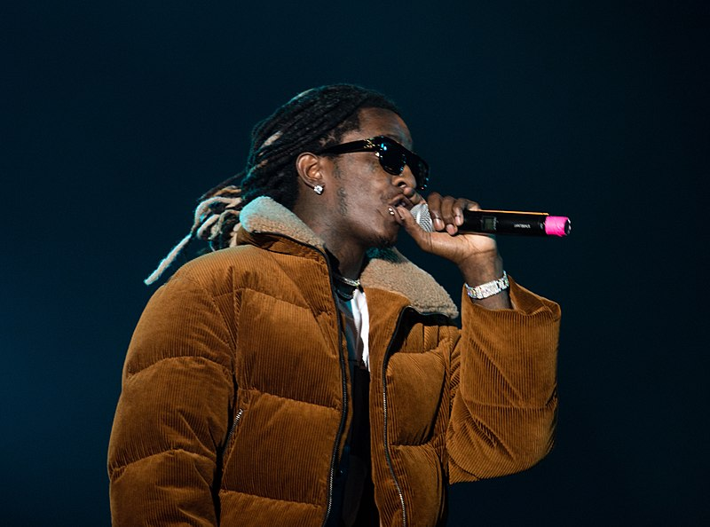 Young+Thug+performs+live+in+the+Netherlands.+This+Atlantan-Haitian+native+has+changed+the+view+of+the+rap+scene.
