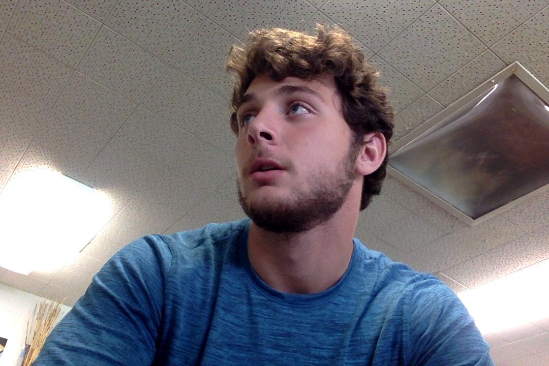Luke Mathwig sports the Amazon Jungle of beards.