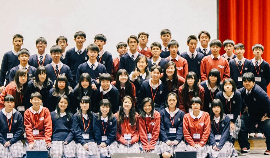 BSM hosted students from Hokkaido, Japan. More than a dozen students from the Kaisei Gakuin School in Japan came for the experience.