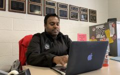 Juno Nayagam works to prepare juniors for the ACT.