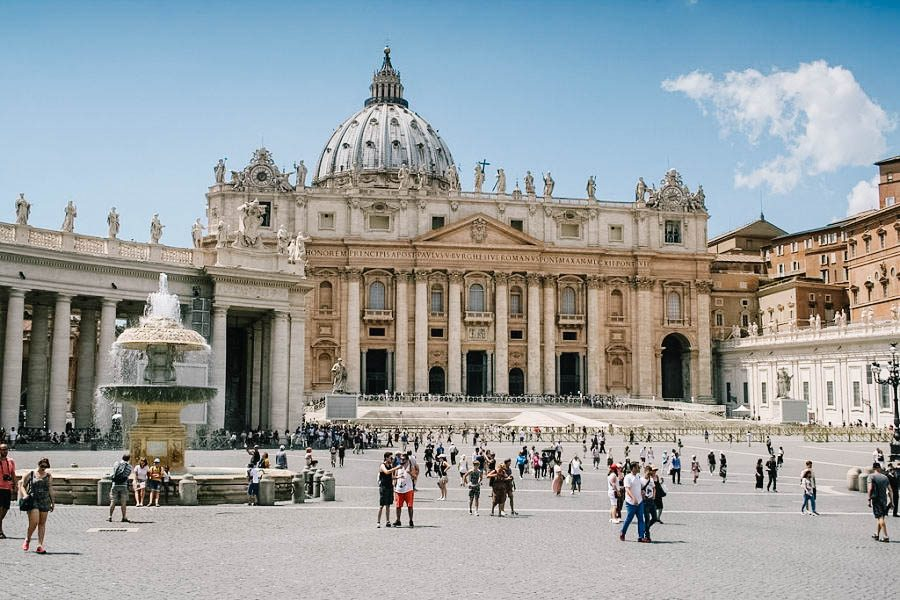 Dr. Susan Skinner is spending two weeks working on the Lasallian mission just two miles away from the Vatican.