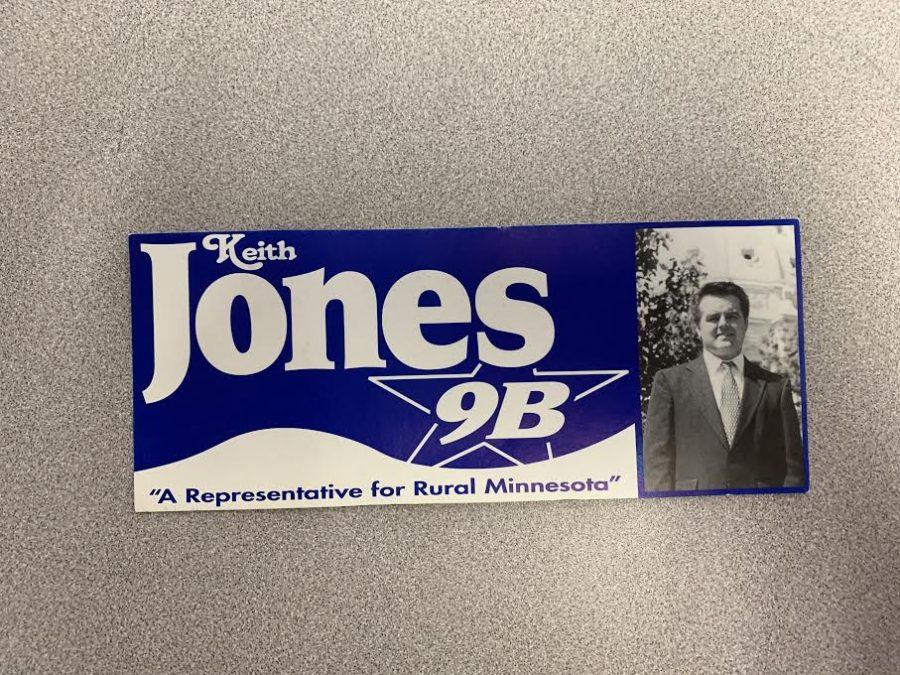 When he was a teacher in Moorhead, Mr. Jones tried running for a state representative seat.