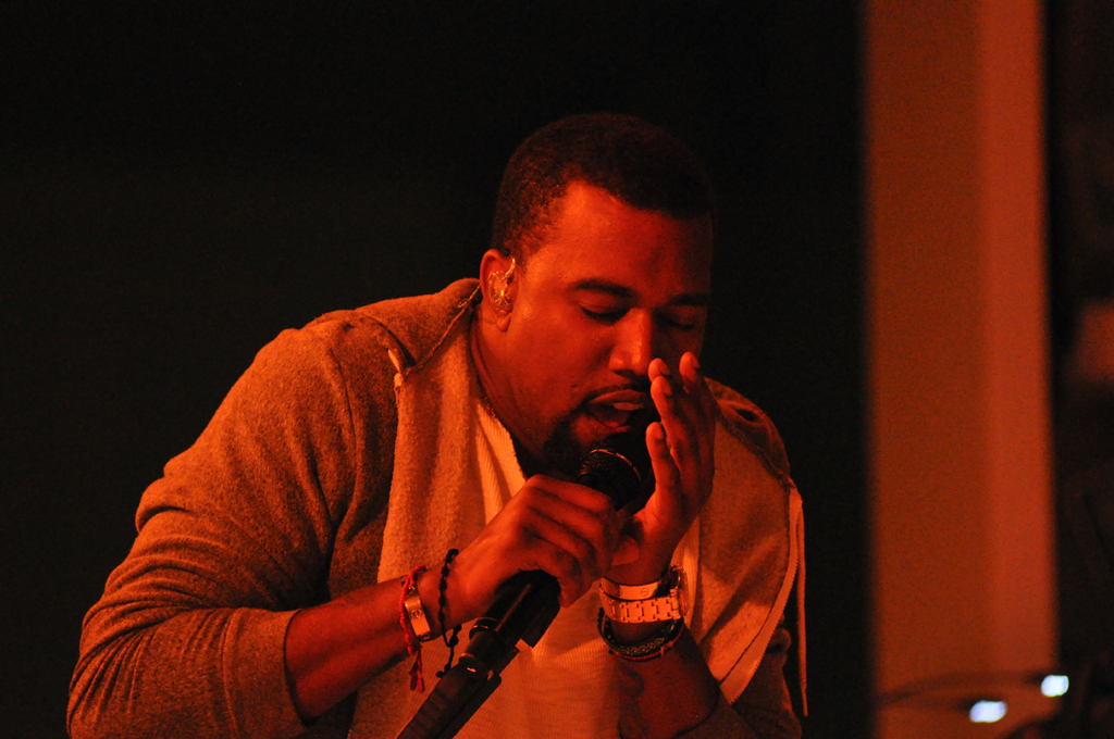 Kanye West performs at The Museum of Modern Art's annual Party in the Garden benefit, New York City, May 10, 2011