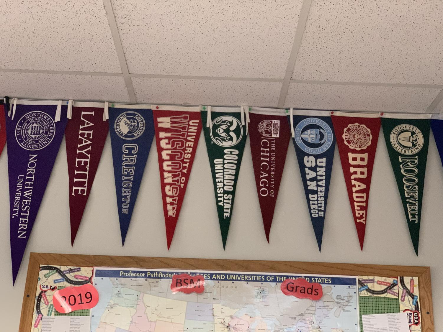 College visits help students determine if they see themselves there.