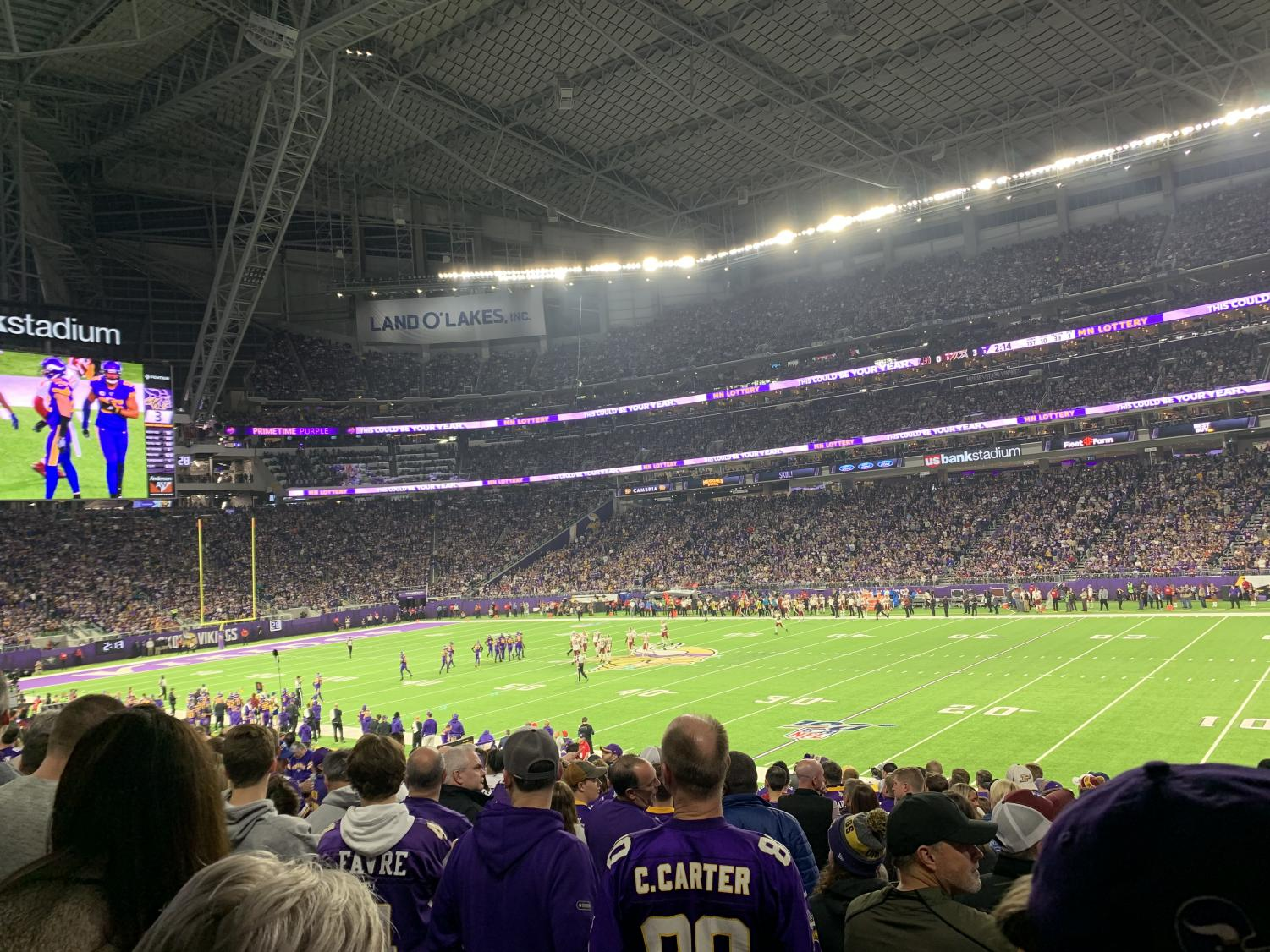 Brady Giertsen believes Vikings games are the best sporting event to go to in Minnesota.