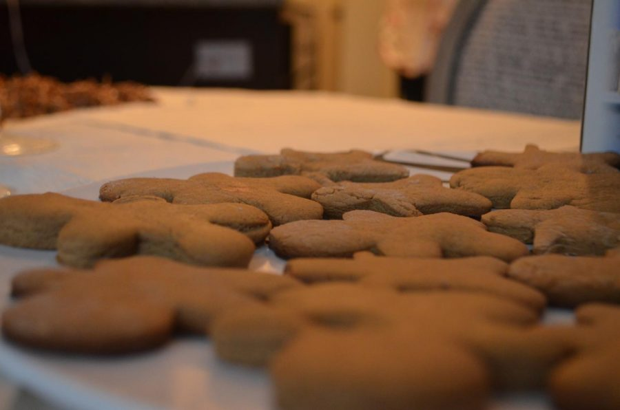 Gingerbread cookies capture the flavor of the season.