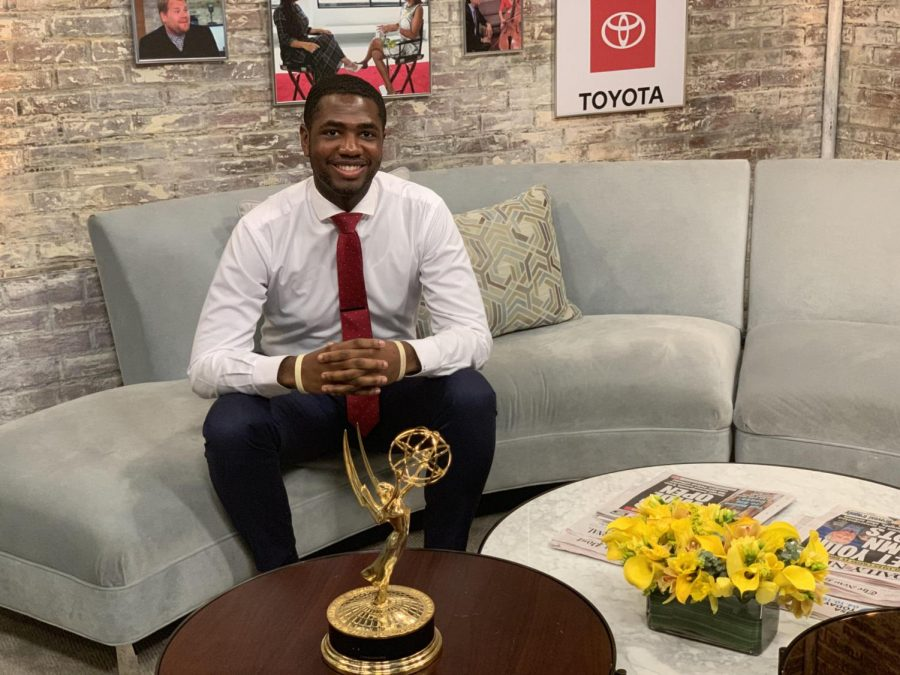 Derrell Bouknight turned his interest in sports into a career in journalism.