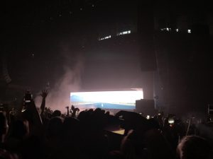 Senior Jacinda Smith took this photo of a Tyler, the Creator concert at the Armory.