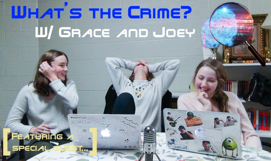 Grace and Joey talk crime TV shows with a special guest [Vodcast]