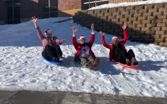 You are never too old to go sledding