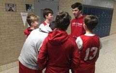 BSM sophomore coaches junior high basketball team