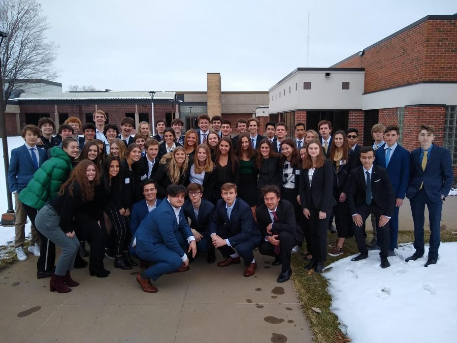 Students participated in the competition at Anoka Ramsey Community College.