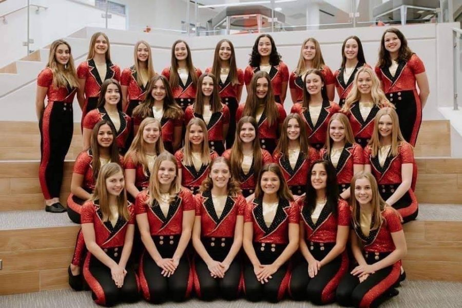 BSM+girls%27+varsity+dance+team+goes+to+state+and+hopes+to+place+higher+than+last+year.+