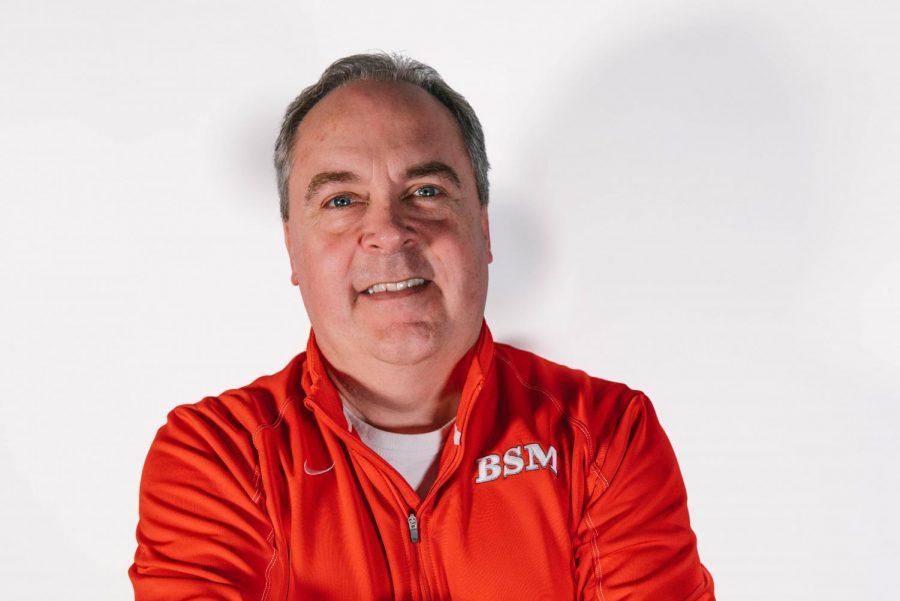 Mr. Bob Lyons recently returned as an interim coach for boys' B-squad basketball