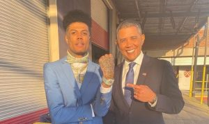 "Blueface gets presidential with his new single ""Obama"""