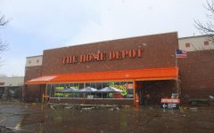 Sophomore Joseph Flachman continues to work at Home Depot during Extended Online School.