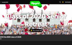 Seniors participate in virtual retreat