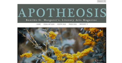 This year Apotheosis will be published solely online instead of the traditional magazine.