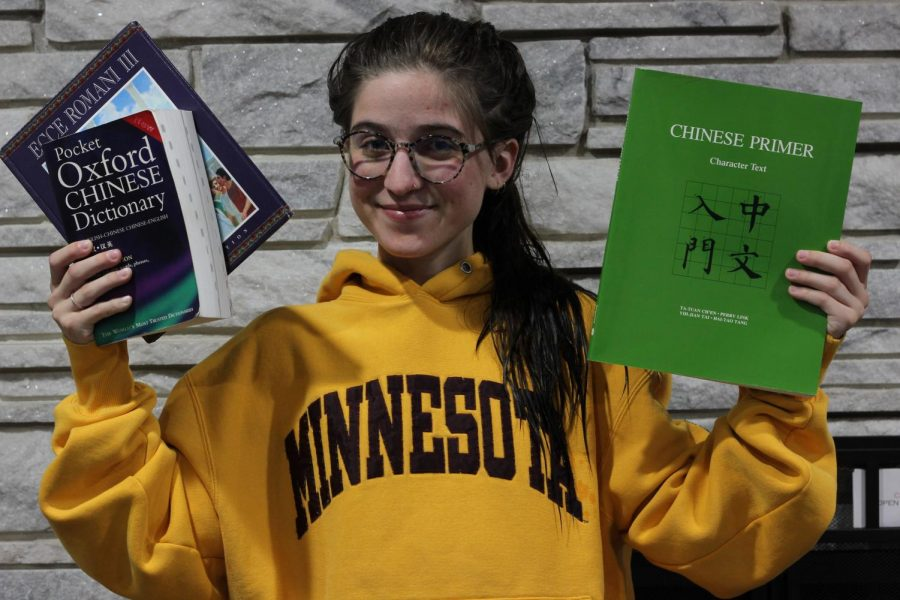 Hope Wang's love for languages has helped her feel a little more connected to the world.