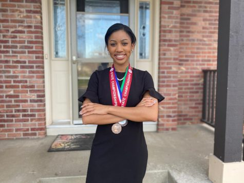 Breah Banks used her talent for speech to bring awareness to important issues.