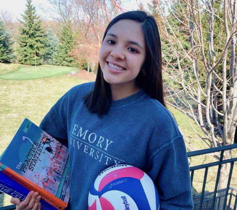 Senior Sarah Luong, BSM's recipient of the 2020 Athena Award, varsity volleyball and math league captain, and one of this year's valedictorians, has excelled on the court and in the classroom in her six years at BSM.