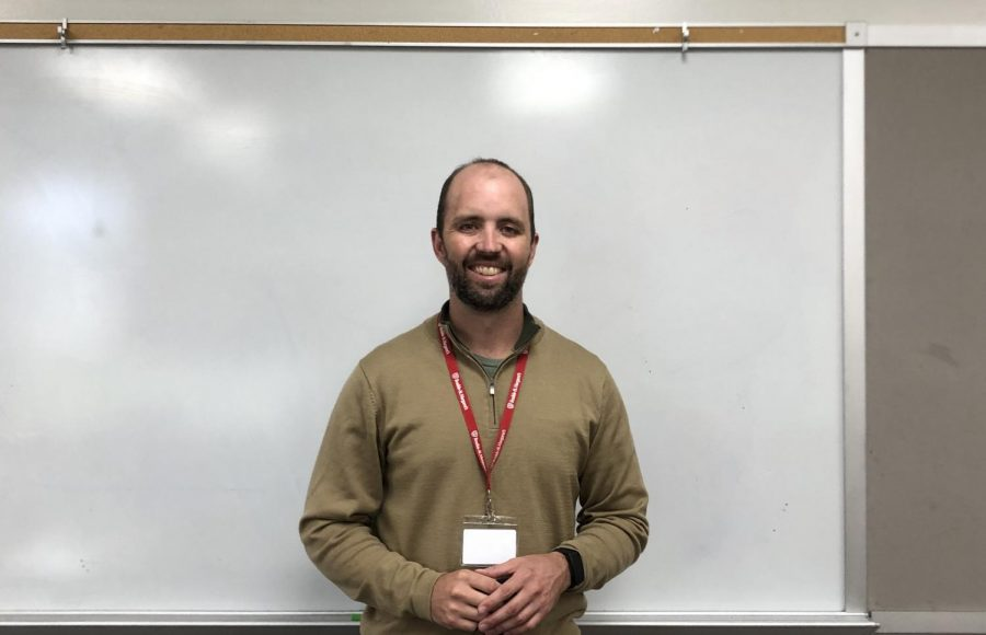 Mr. Matt Dooley is one of BSM's new English teachers for the 2020-2021 school year.