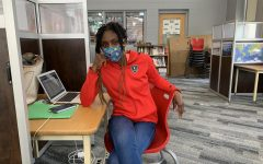 BSM alum, Ms. Andretta Hanson spends her days teaching a theology class and being the building's sub.