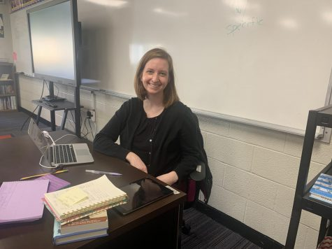 One of the newest members of the BSM Faculty is Ms. Maistrovich, who teaches Junior High English.