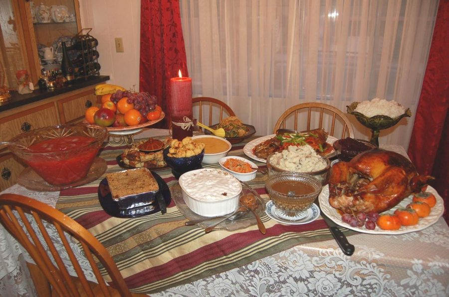 A delicious spread is a usual part of Thanksgiving, but this year the focus should be on giving thanks.
