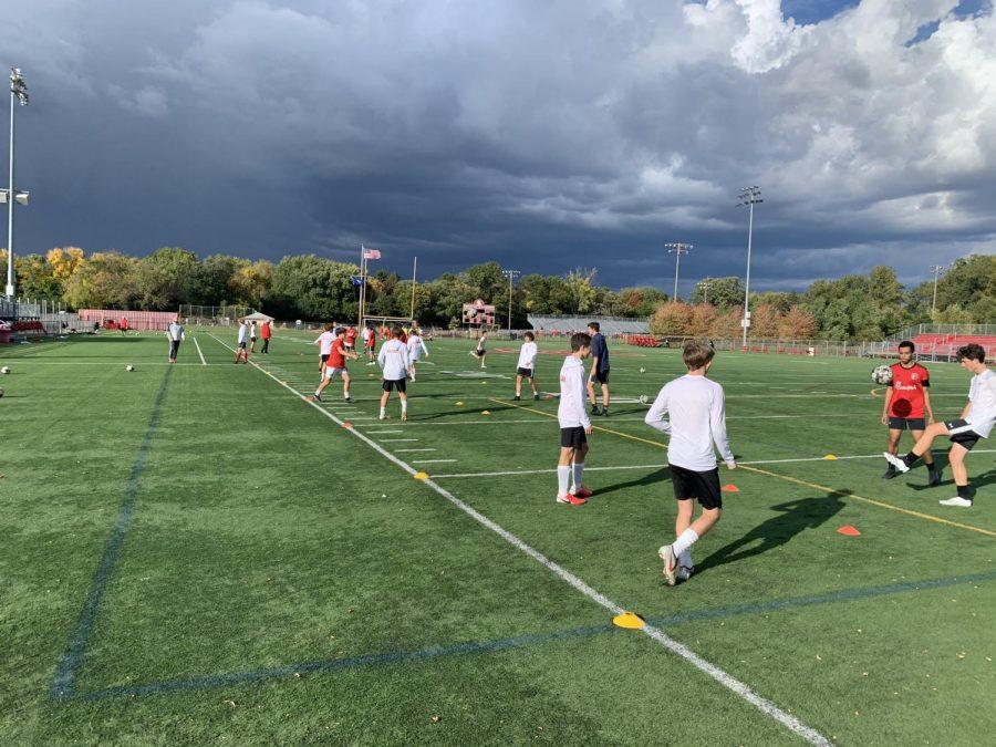 Back in September, the BSM boys' soccer team started preparing for their unusual season.