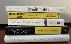 A small portion of the nonfiction books I've read.